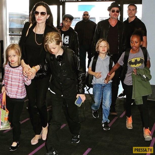 Анджелина Джоли преподнесла Брэду Питту самый главный рождественский подарок