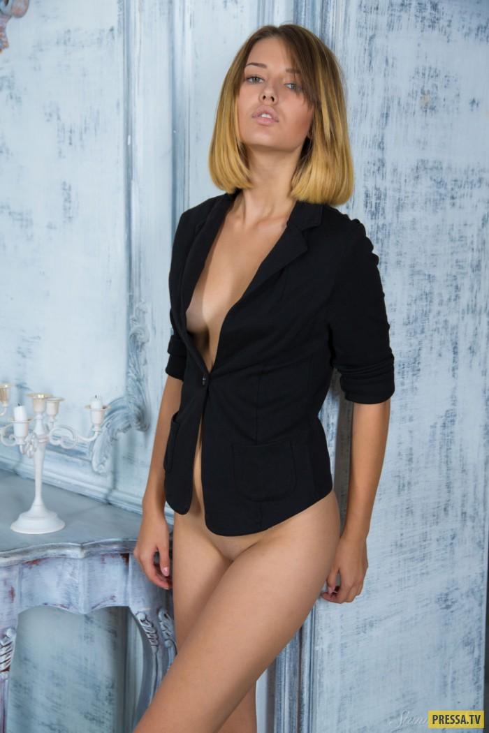 Вероника с красивой фигурой и упругой грудью (12 фото)