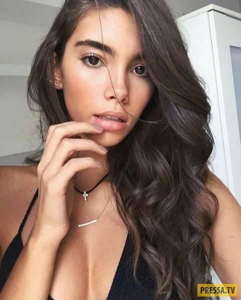 Красивые девушки из социальных сетей разных стран (51 фото)
