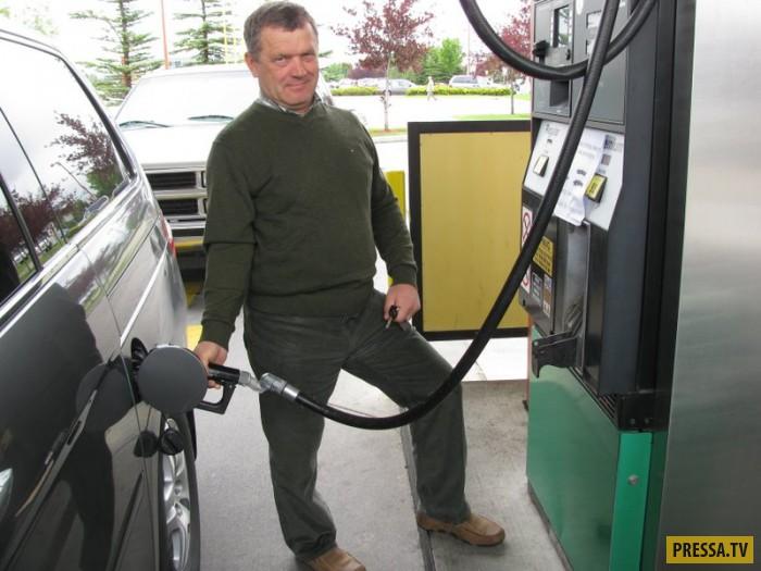Физика, бензин и АЗС
