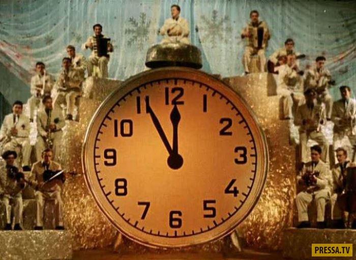 """Как снимали культовую советскую комедию """"Карнавальная ночь"""" (16 фото)"""