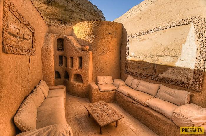 Экологический отель в Египте (13 фото)
