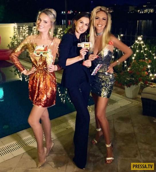 Виктория Лопырева с шиком встретила Новый год в Дубае (фото)