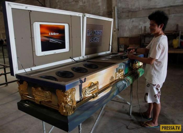 ТОП-9 самых необычные похоронные аксессуары (9 фото)
