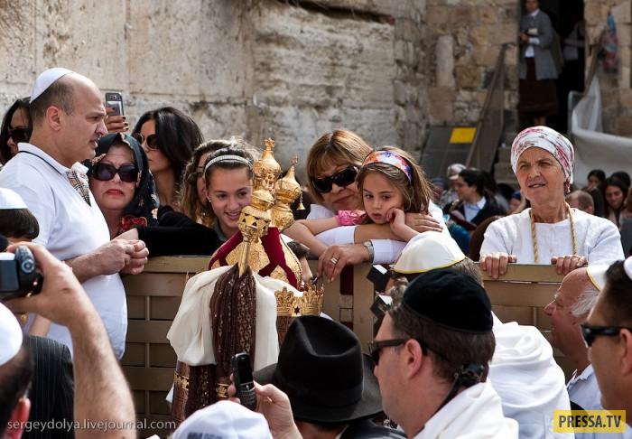 Стена Плача в Иерусалиме (26 фото)