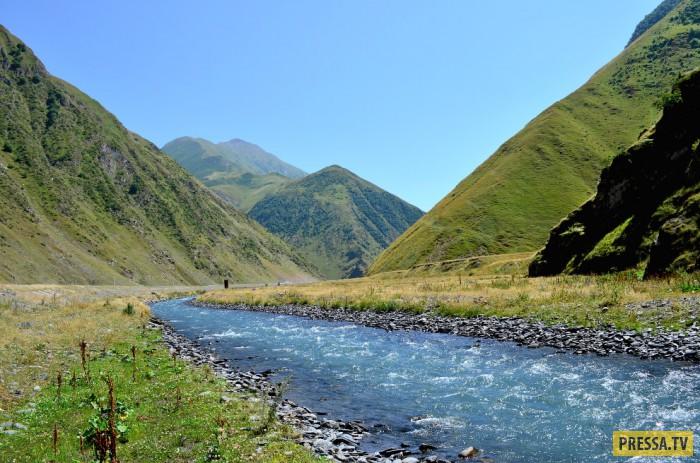 Страна гор и вершин Грузия (29 фото)