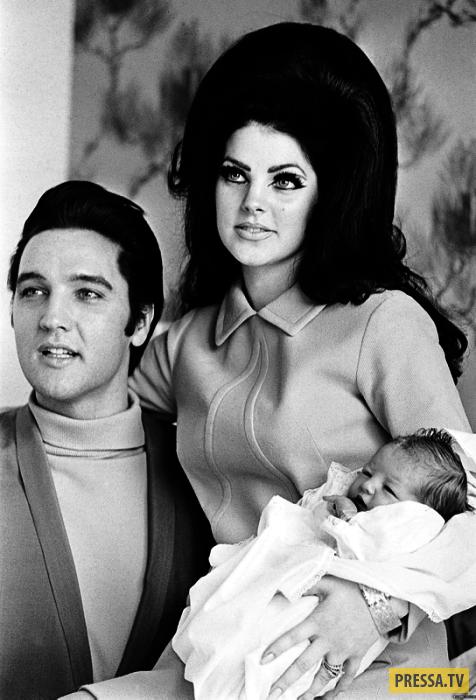 Была ли любовь?  Лиза Пресли и Майкл Джексон (11 фото)