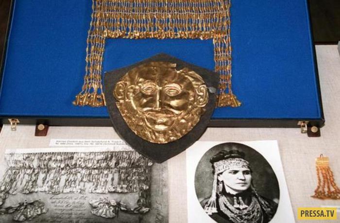 Генрих Шлиман и золото Трои (12 фото)
