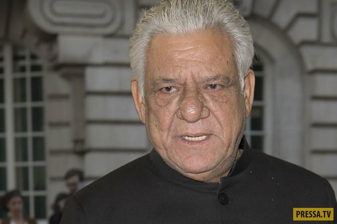 Умер известный индийский актёр Ом Пури