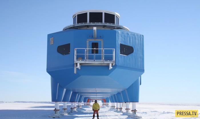 Halley VI футуристическая антарктическая станция (7 фото)