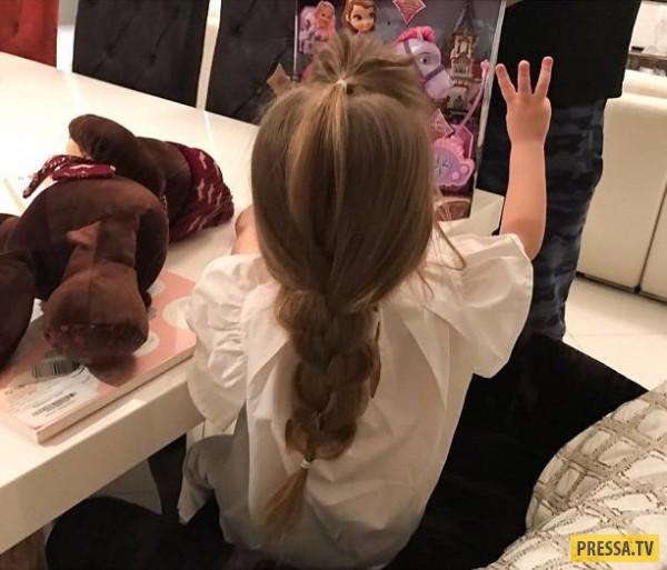 Гарик Харламов и Кристина Асмус отпраздновали 3-летие дочери (фото)