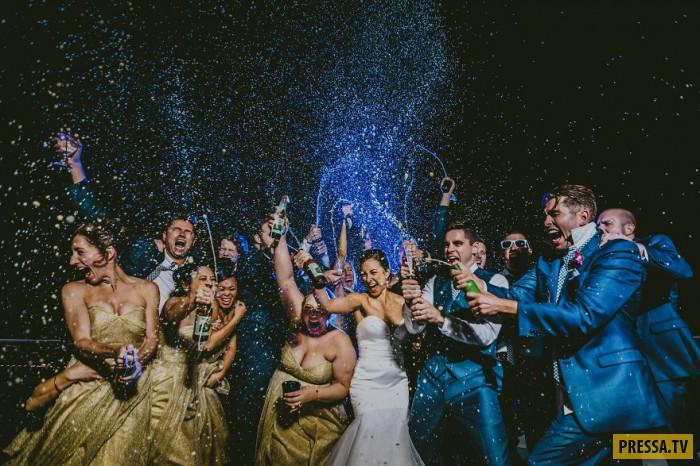 Топ-50 самых стильных свадебных фотографий
