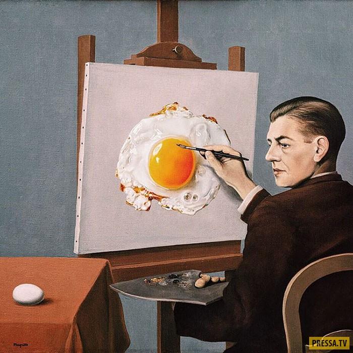 Сюрреалистическое искусство высмеивающее современные ценности (58 фото)