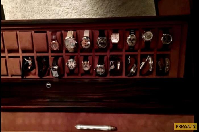 Из квартиры в Москве похитили ценную коллекцию наручных часов