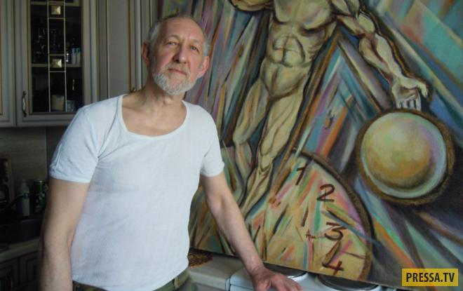 В Москве после ухода жены скончался художник Александр Шафранский (7 фото)