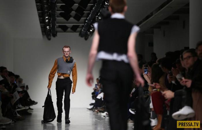 Мужская мода 2017 из Лондона (22 фото)