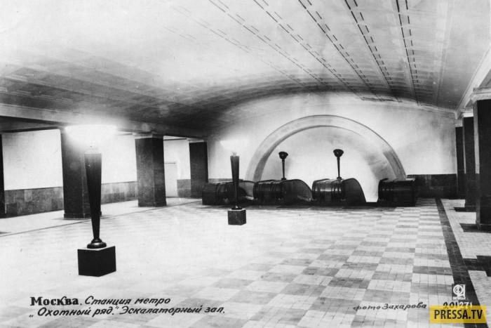 Самые первые станции Московского метро на момент открытия (31 фото + видео)