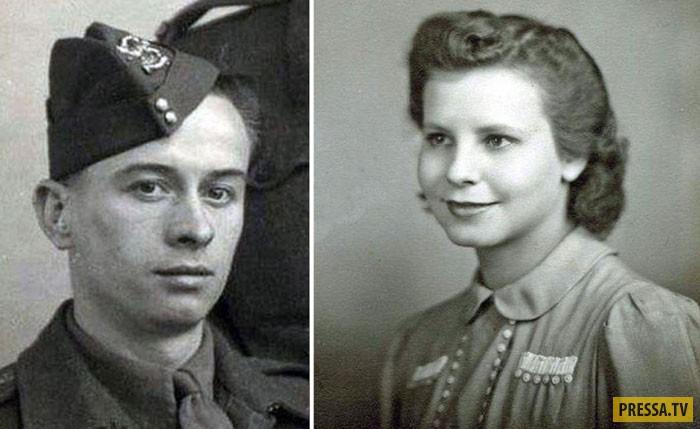 Невероятная история влюбленного пленного британского солдата и немецкой девушки (8 фото)