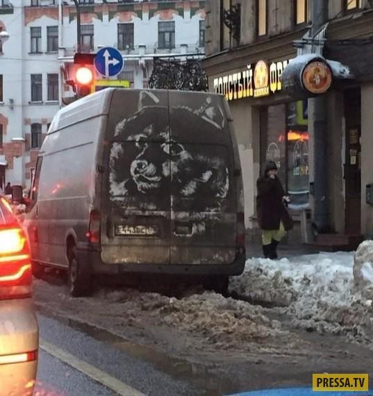 Автоприколы и смешные ситуации с Российских дорог (43 фото)