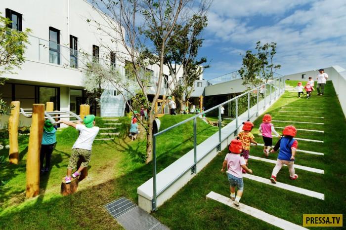 Идеальный детский сад в городе Идзуми, Япония (18 фото)
