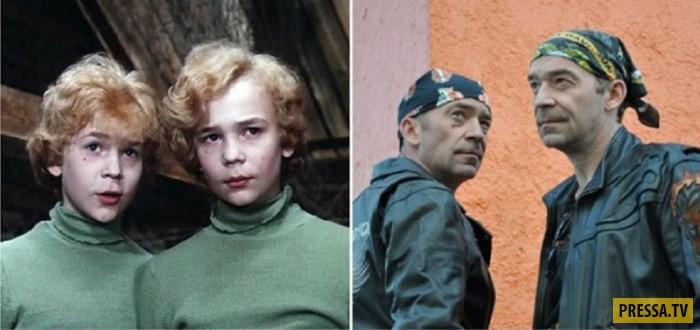 Актеры-подростки из популярных советских фильмов в наше время (15 фото)