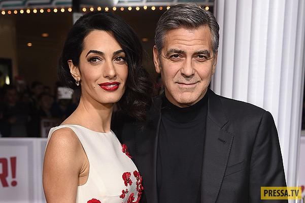 В семье Джорджа Клуни ожидается пополнение (фото)