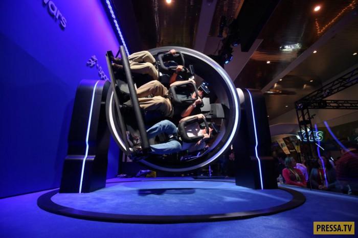 Самые поразительные экспонаты Международной выставки потребительской электроники в Лос-Анджелесе (25 фото)