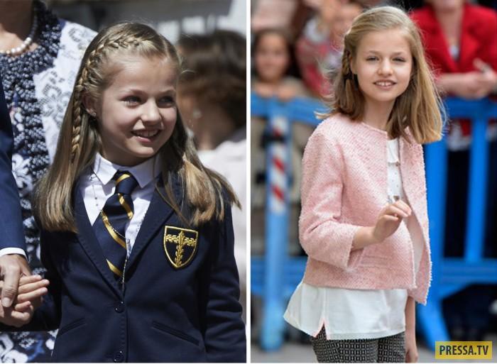 Дети - наследники королевских домов Европы (9 фото)