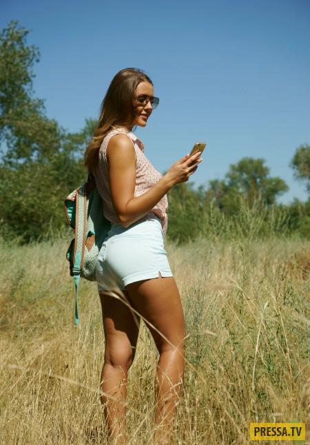 Миленькая Sybil на пикнике (21 фото)