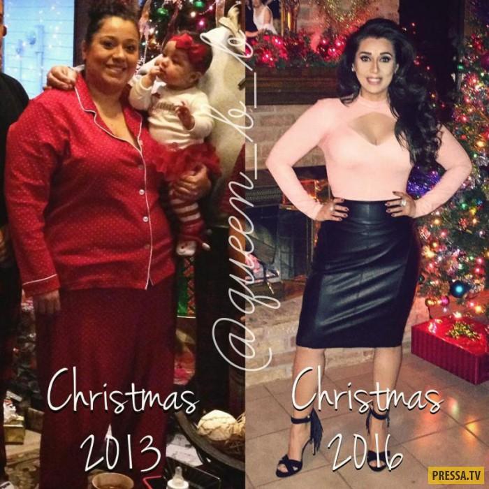 """34-летняя американка обиделась на """"жирную корову"""" и похудела на 45 кг (14 фото)"""