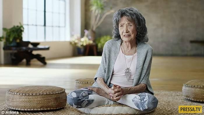 98-летняя Тао Порчон-Линч - старейший в мире инструктор йоги (7 фото)