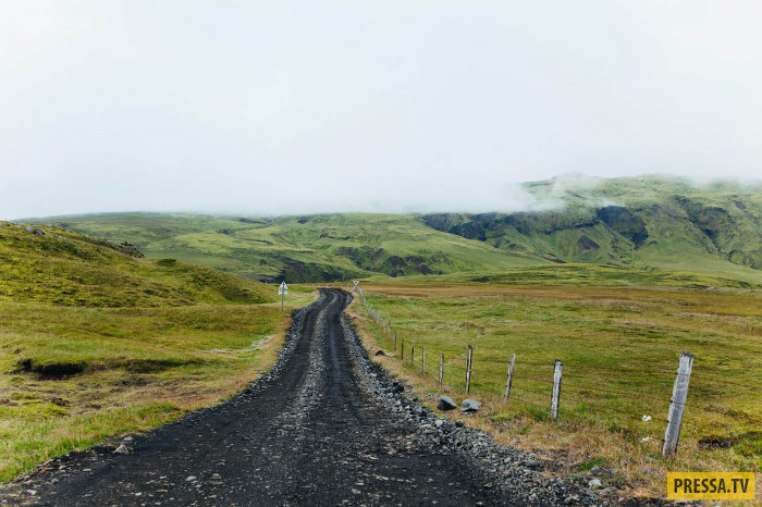 Из Санкт-Петербурга в Исландию на мотоцикле (64 фото)