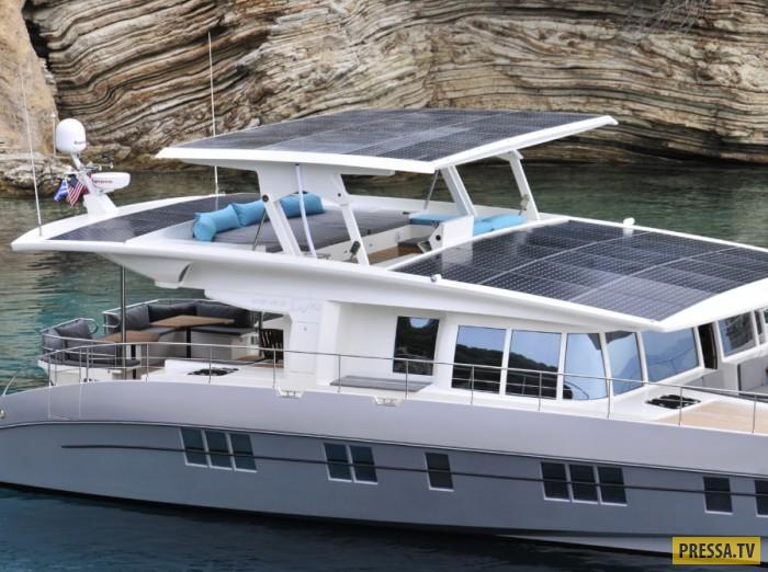есть солнечная батарея для яхты возможным