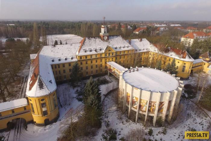 Бывшая самая большая советская часть в ГДР (18 фото)