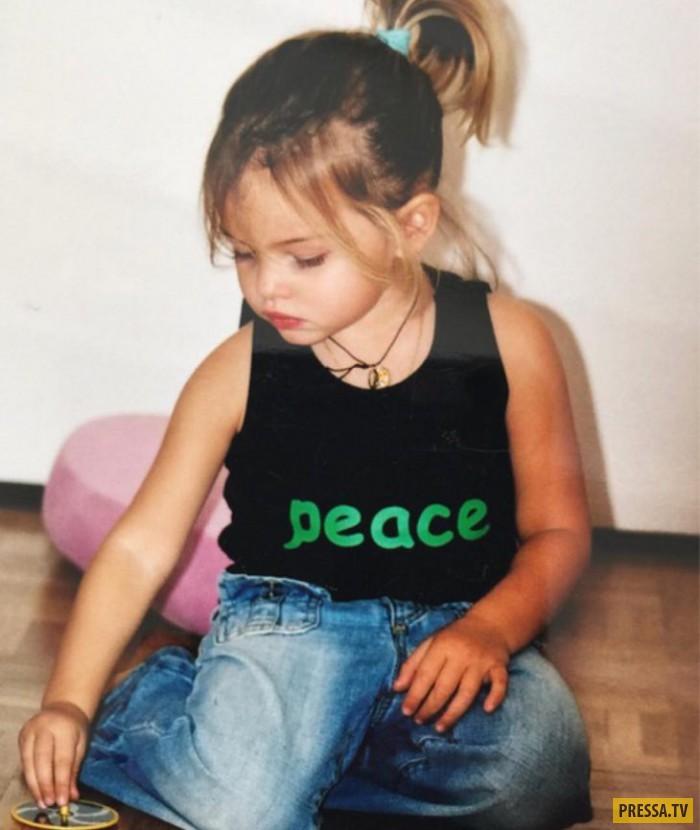 Самая красивая девочка в мире Тилан Блондо подросла (10 фото)