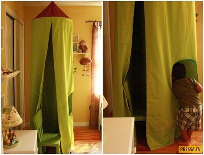 Креативное использование старого зонта для украшения дизайна (14 фото)