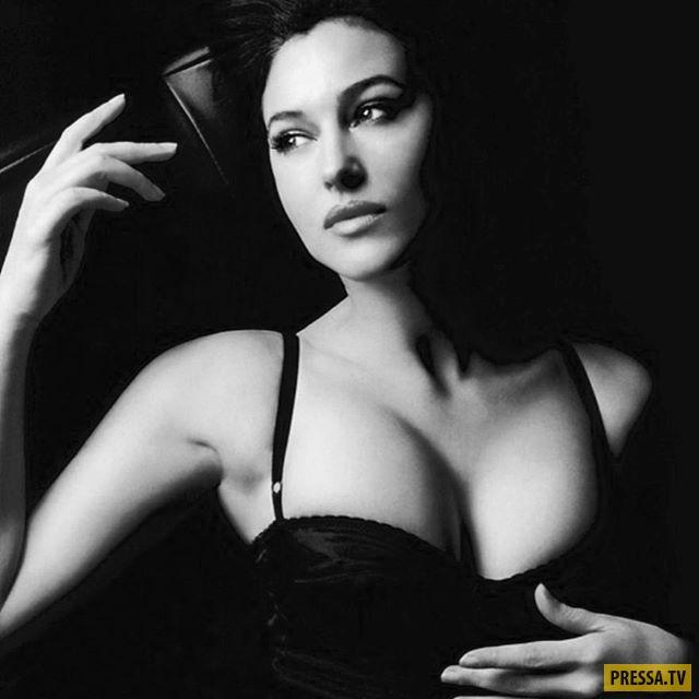 Моника Беллуччи снялась в откровенной фотосессии для мужского журнала (6 фото)