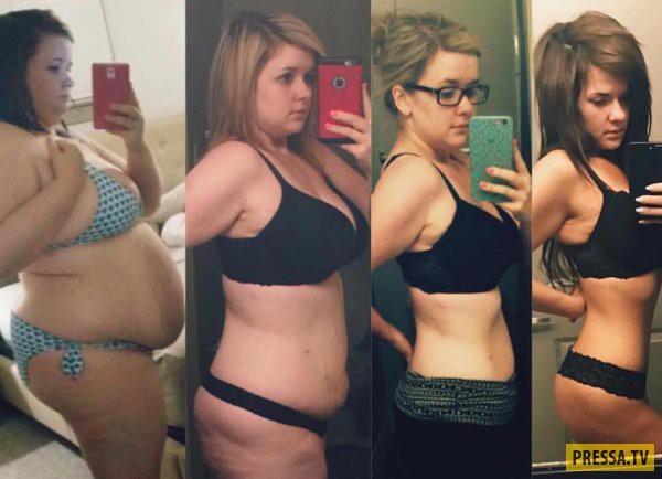 """Впечатляющие результаты похудения """"До и после"""" (30 фото)"""
