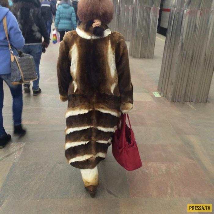 Самые модные пассажиры российского метро (35 фото)
