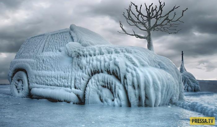 Мыть или не мыть автомобиль зимой (3 фото)