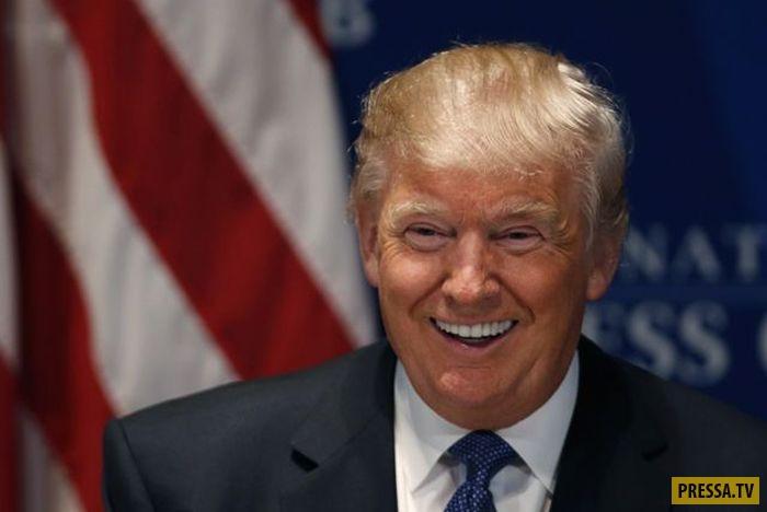 Дональд Трамп. Как президент США менялся с годами (18 фото)
