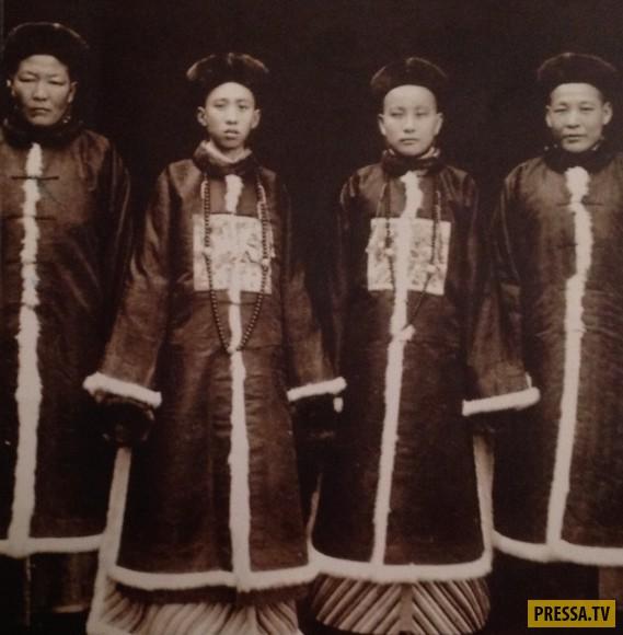Шокирующие обычаи и традиции Древнего Китая (10 фото)