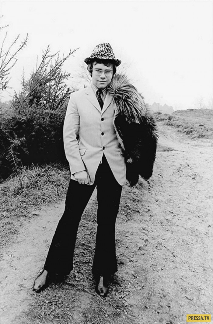 Первая фотосессия Элтона Джона, 1968 год (5 фото)