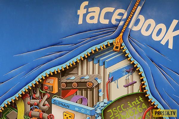 Что известно о вас  Facebook (2 фото)