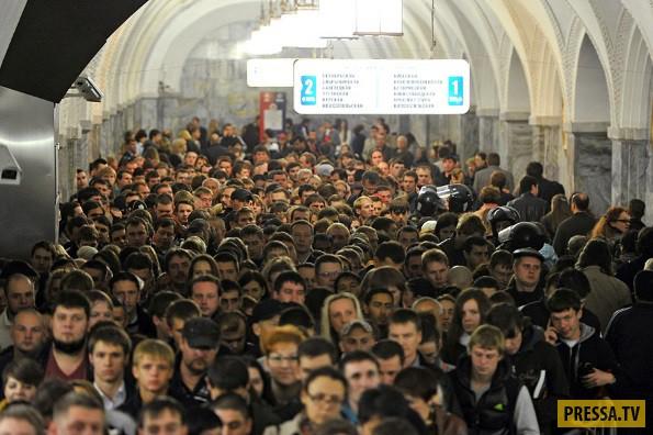Испытание в метро