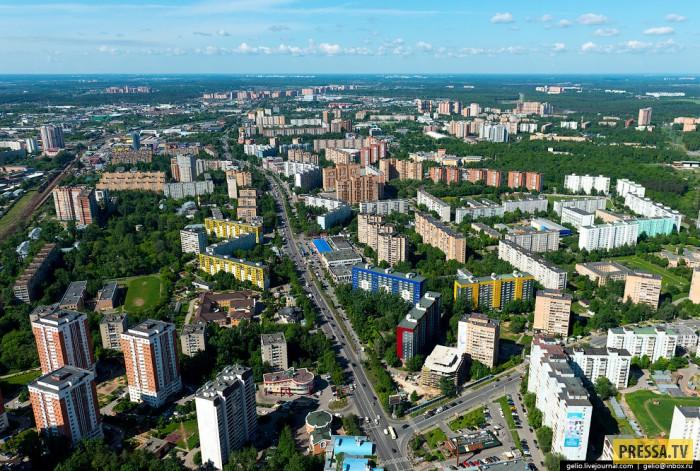 Самый населённый и быстроразвивающийся район России (41 фото)