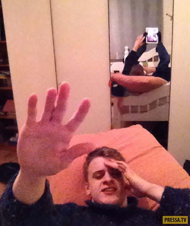 Не самые удачные селфи (21 фото)