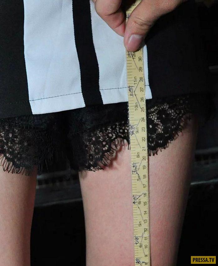 Чем короче юбка, тем больше скидка в ресторане (8 фото)