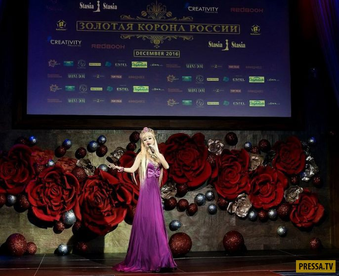 Русская Барби - Татьяна Тузова (25 фото)