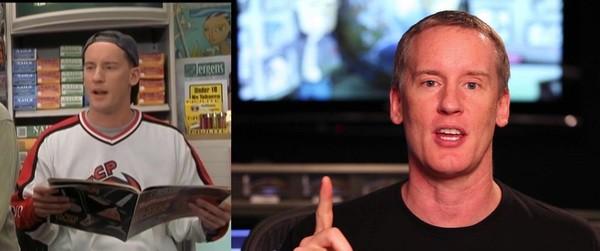 """Как изменились актёры комедии """"Джей и Молчаливый Боб наносят ответный удар"""" (25 фото)"""